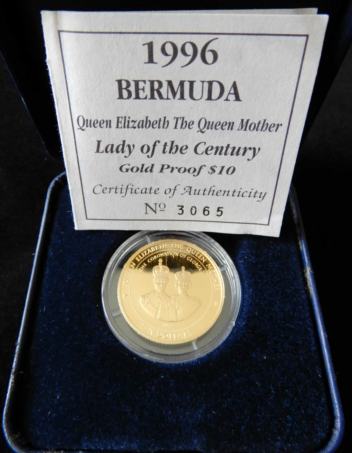 2000 Ireland Millennium 1 Pound Silver Proof Coin w// Box and COA
