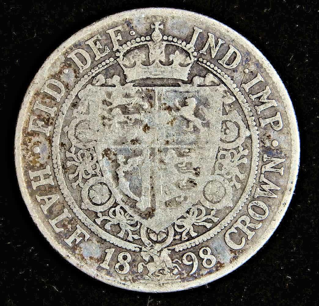 Victoria Halfcrown 1898 B And G Coins